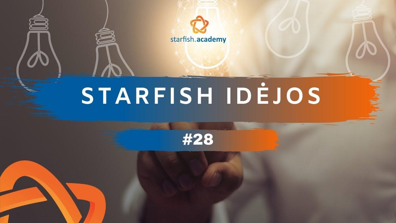 Starfish Idėjos #28. Kaip supaprastinti savo verslą?