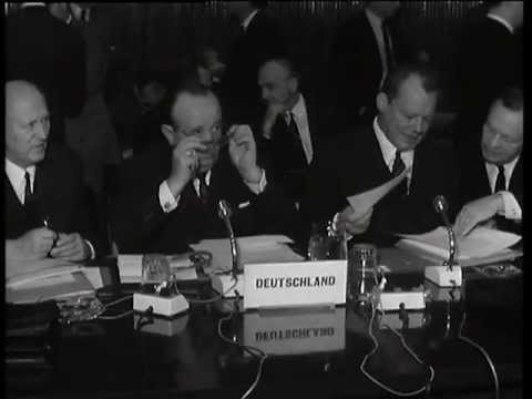 1967: Enlargement on the agenda of the Foreign Affairs Council