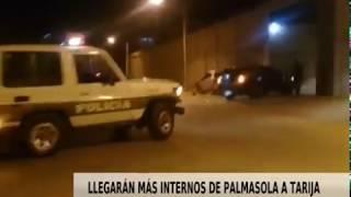 LLEGARÁN MÁS INTERNOS DE PALMASOLA A TARIJA