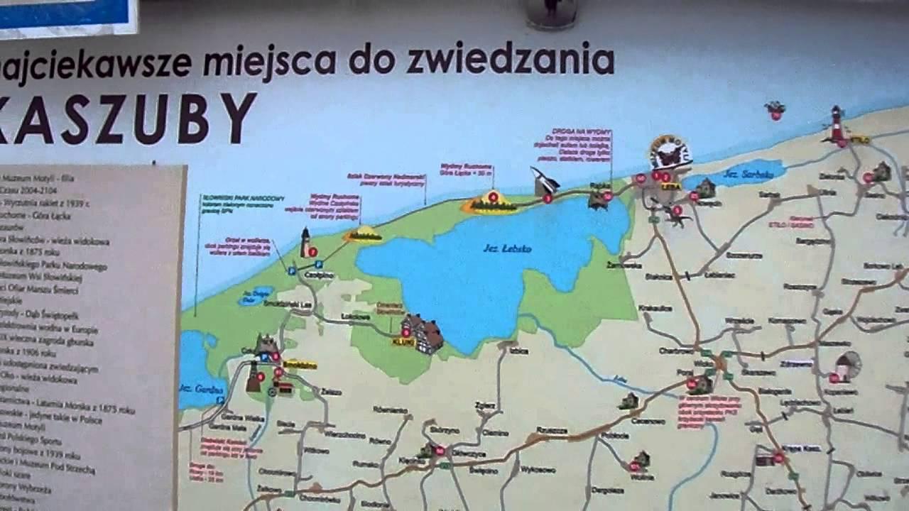 Gdynia Mapa Turystyczna Pomorze Youtube