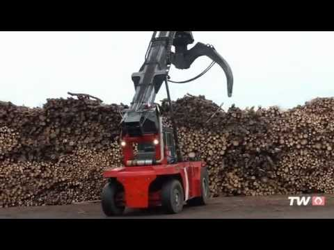 Log stackers in Daily Operation
