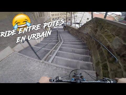 RIDE ENTRE POTES EN URBAIN ! 😂 - VTT URBAIN - 2GU #1