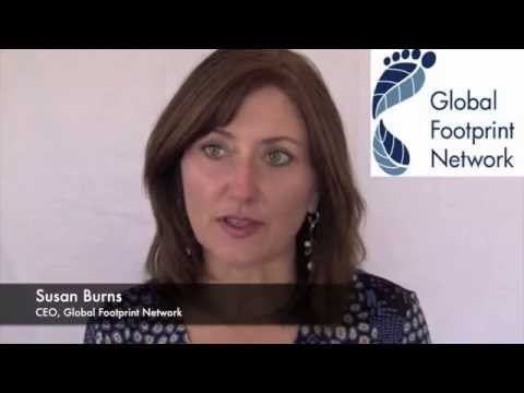 Global Footprint Network CEO Susan Burns on climate change and sovereign debt