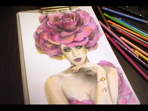 Tutorials Greyscale Coloring By Alena Lazareva Fashion Coloring Book