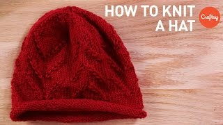 How to Knit a Hat: Easy Tips & Techniques | Craftsy Knitting Tutorial