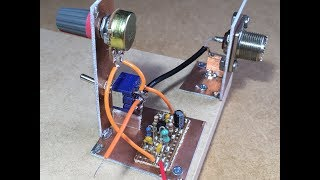 Simple Homebrew SSB/CW Transceiver Part 3 - Receive RF Amplifier Design