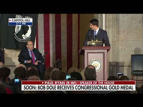 Bob Dole Awarded Medal of Honor