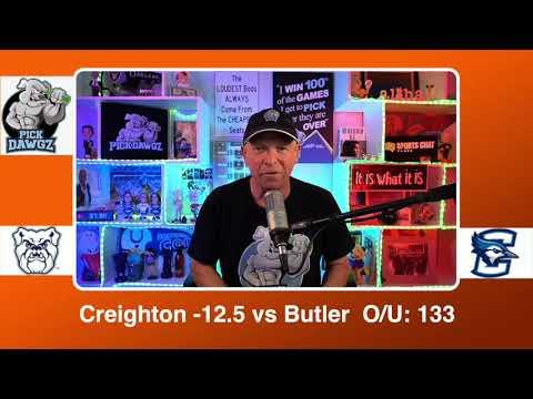 Creighton vs Butler 3/6/21 Free College Basketball Pick and Prediction CBB Betting Tips