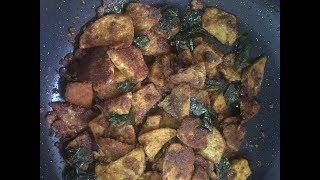 Yam fry / Senaikkizhangu poriyal - Spicy Side !!