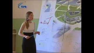 Защита дипломных работ на кафедре архитектуры МГТУ
