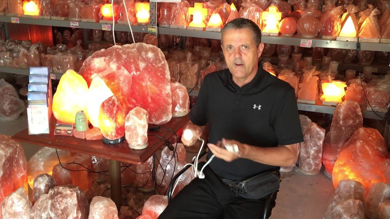How to change the light bulb in your Himalayan Salt Lamp - YouTube