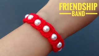 How To Make//Friendship Band//Do It Your Self// Useful & Easy