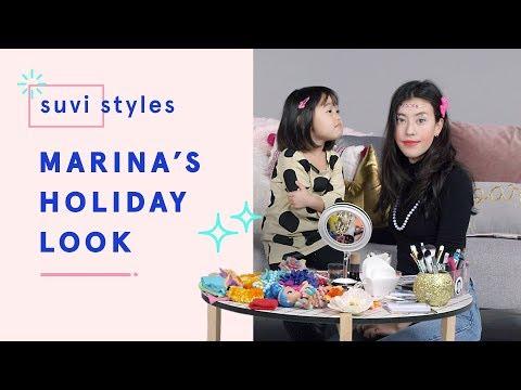 Suvi Gives Marina a Holiday Makeover | Suvi Styles | HiHo Kids
