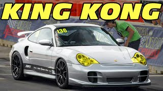 KING KONG! 1500+HP Turbo Porsche @ TX2K15!
