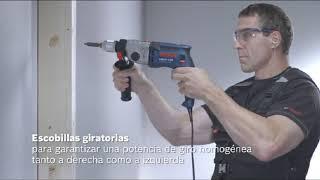 EL MEJOR TALADRO PROFESIONAL DE BOSCH CON PERCUSIÓN - Hormigón/madera/piedra/ mampostería/acero...