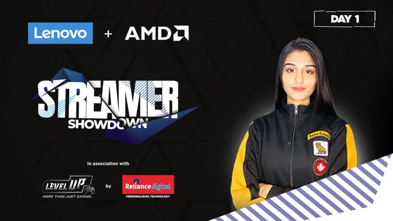 Lenovo + AMD | Apex Legends Streamer Showdown | Day 1 With Payal Gaming @Vanny