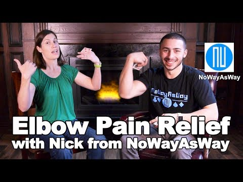 Elbow Pain Relief Stretches & Exercises - Ask Doctor Jo