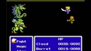 Final Fantasy 7 (remake) - Final Fantasy 7 NES Nintendo remake 2/7 english - Download Rom! - User video