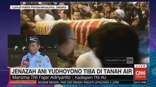 Jenazah Ani Yudhoyono Tiba di Tanah Air