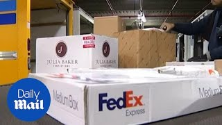 Chinese tech giant Huawei accuses FedEx of diverting shipments