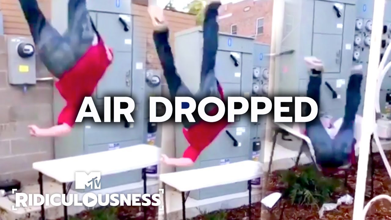 Rob Dyrdek LOVES Jumping Off Things | Ridiculousness