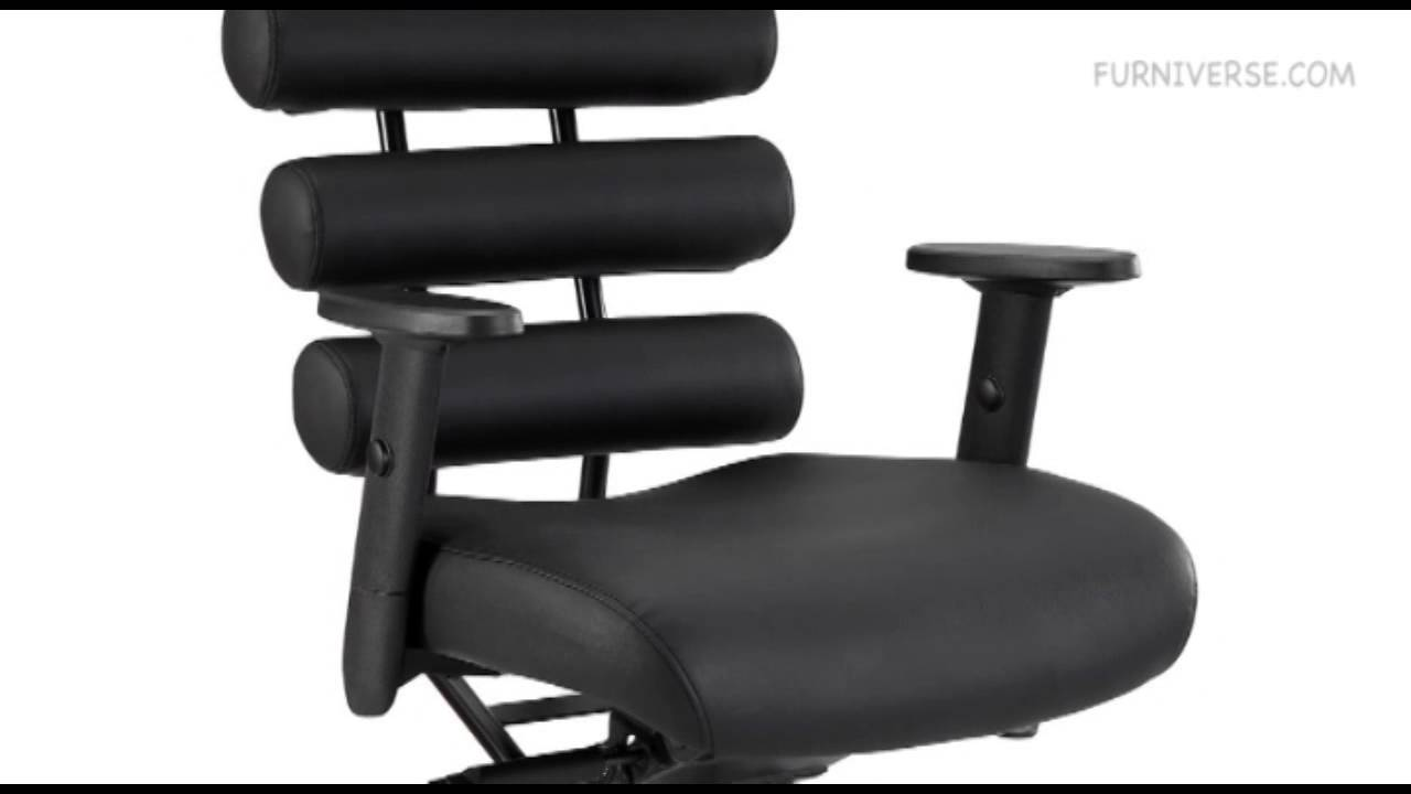 Black Modern Pillow Office Chair You