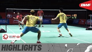 Fuzhou China Open 2019 | Semifinals MD Highlights | BWF 2019