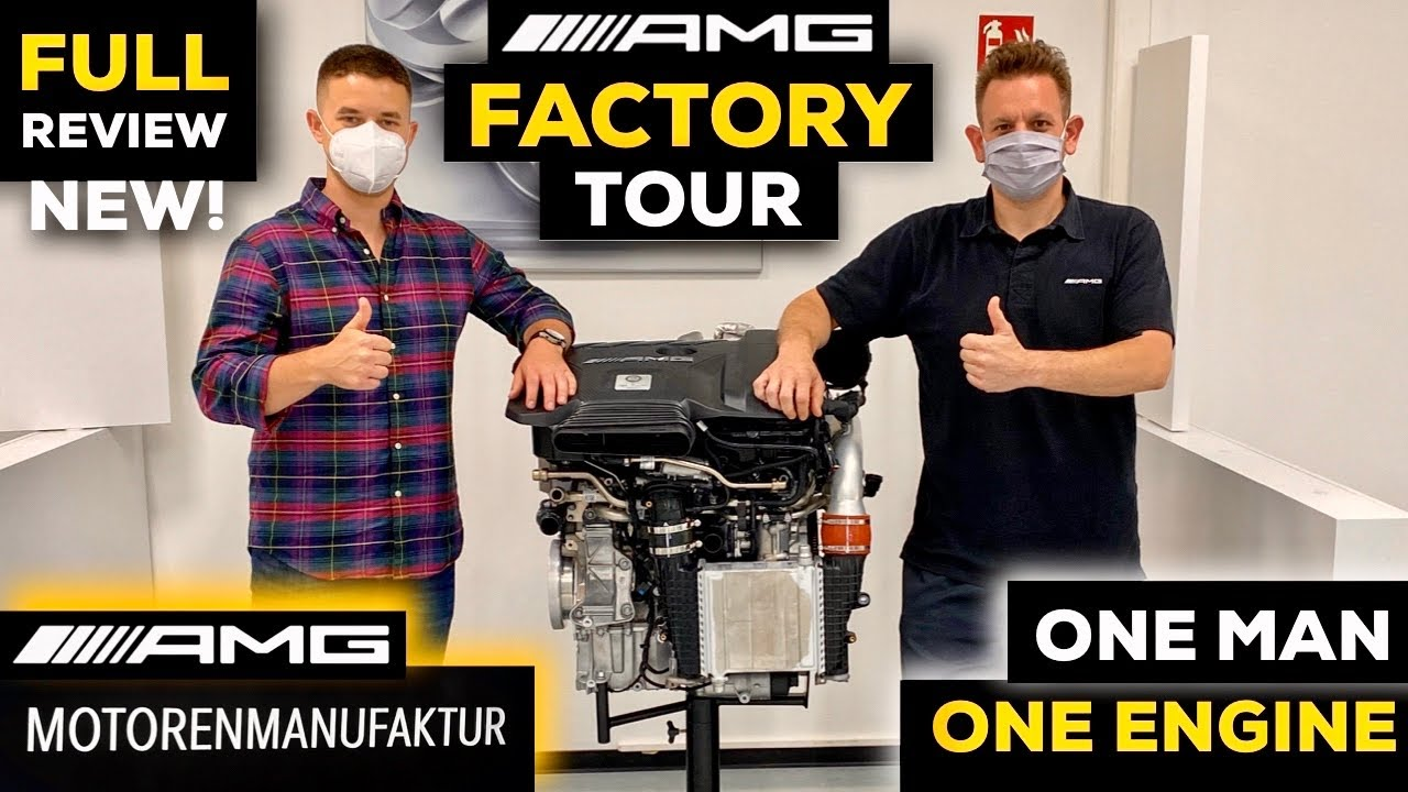 Mercedes AMG LONG FACTORY TOUR V8 Engine 63 EXCLUSIVE Full In-Depth Review M139 4-Cylinder 45S