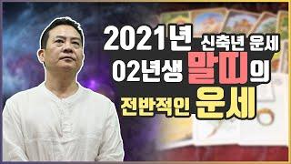 [상산명리교실] 2021년 신축년 운세 (02년생 말띠의 운세) #4