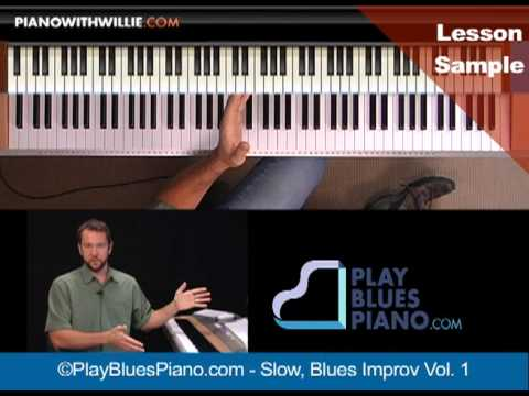 Blues Piano Courses - PianoWithWillie