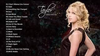 Taylor Swift テイラースウィフト 人気曲 メドレー ♥ Taylor Swift Greatest Hits Playlist