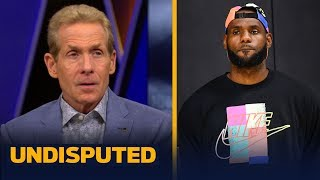 'A positive sign' LeBron attended Vogel's Lakers press conference — Skip Bayless | NBA | UNDISPUTED