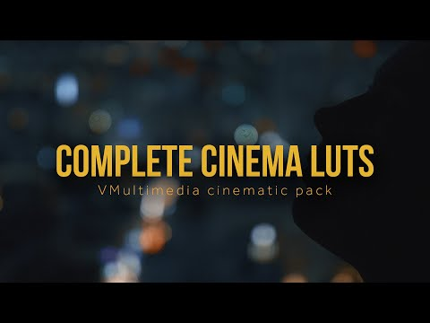 Cinematic LUTs for Filmmakers — VMultimedia - Elite Filmmaking