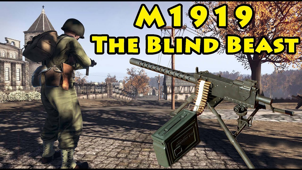 m1919 review blind beast heroes and generals youtube