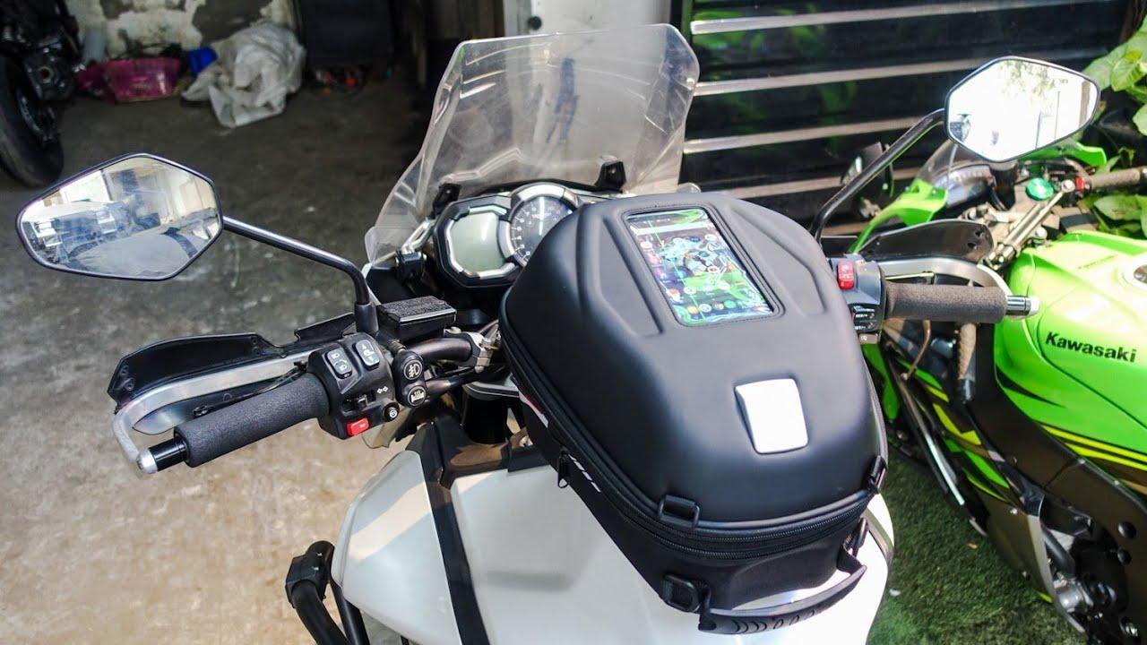 GIVI ST603B: Full Installation Video Of World's Best Motorcycle Tank Bag System
