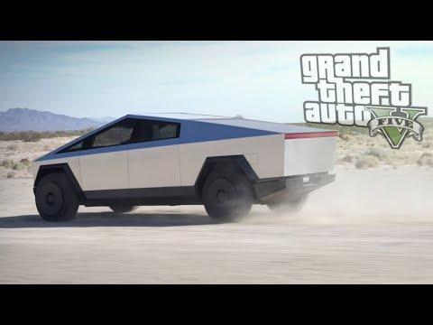 Des joueurs veulent mettre le CyberTruck de Tesla dans GTA, Minecraft ou Rocket League