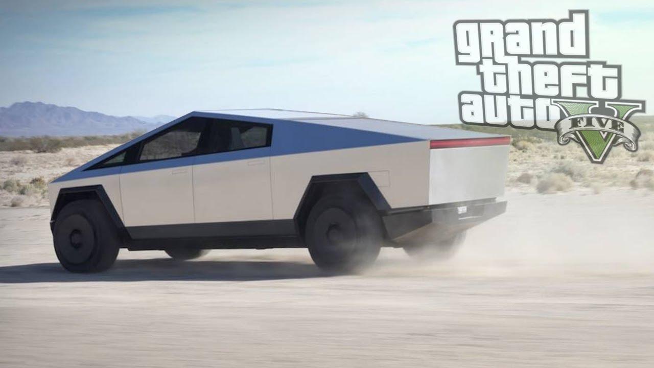 Cybertruck / GTA 5 Tesla Cybertruck Mods