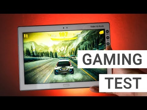 Lenovo Tab4 10 Plus Gaming + Benchmark Test