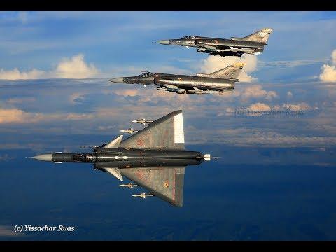 Amazing A2A Footage Of The FAC's (Colombian Air Force) Israeli Kfirs Shot By Yissachar Ruas (YRUAS)
