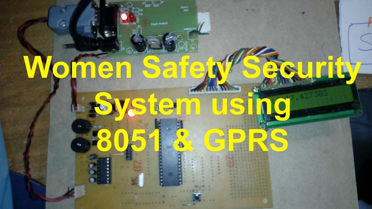 Women Safety Security System Using 8051 And Gprs Tone Generator Circuit Diagram Engineersgarage