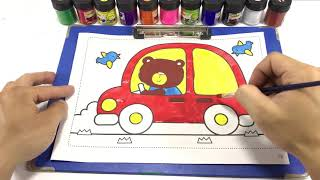 Brown Bear COLORING BROWN BEAR PAINTINGS BROWN BEAR BROWN BEAR COLORING BOOK