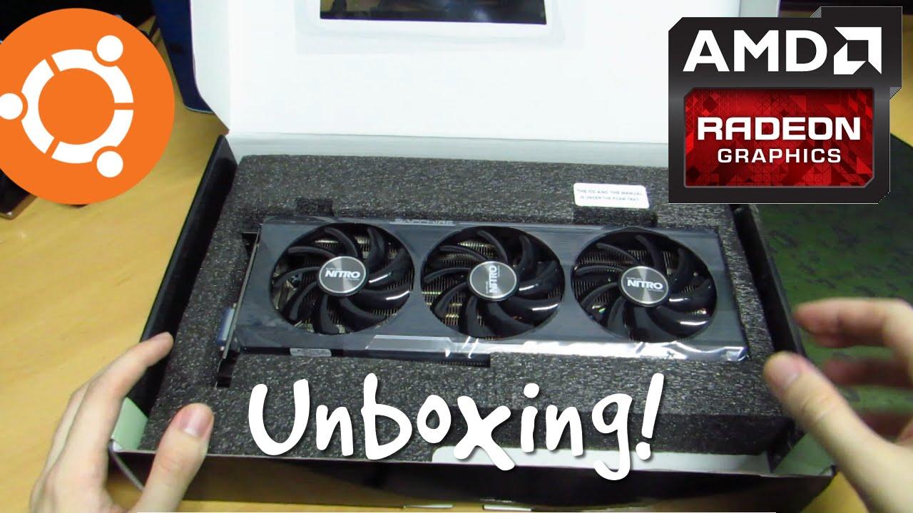 Unboxing the Sapphire AMD R9 390 Nitro Tri-X OC