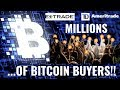 Millions of New Buyers Coming for Bitcoin Litecoin Ethereum