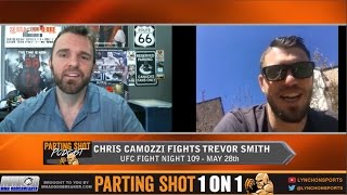 "UFN 109's Chris Camozzi ""It's going to be a dogfight with Trevor Smith"""