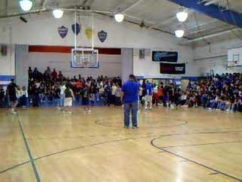 Adams City Middle School Student Teacher Basketball Game