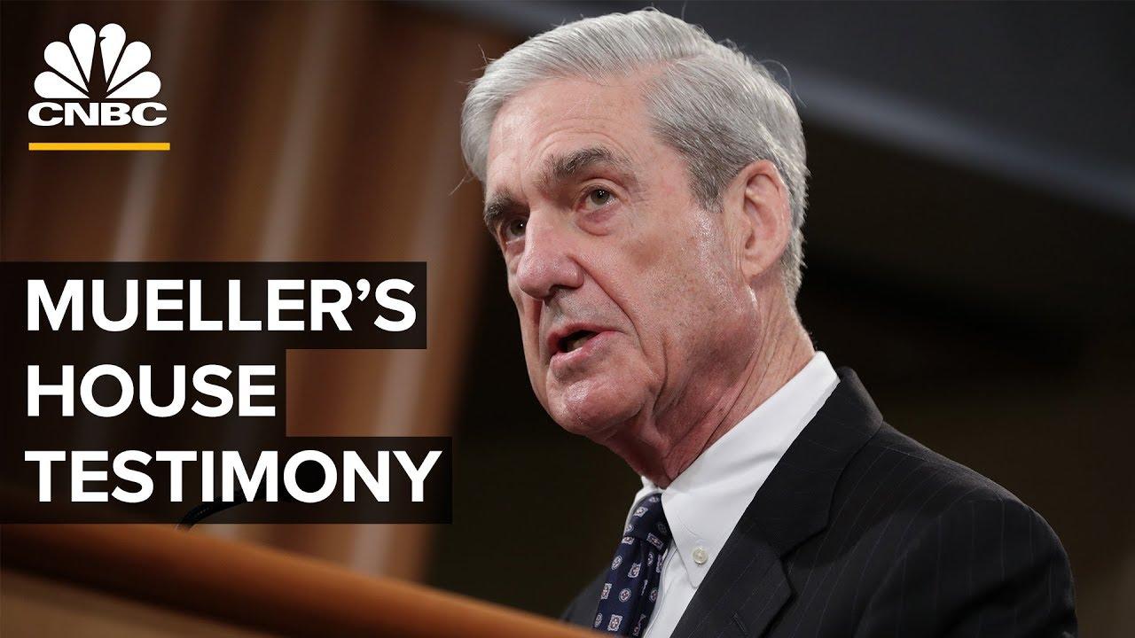 Robert Mueller testifies before House on Trump investigation – 07/24/2019