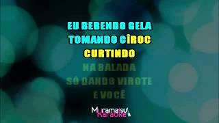 CAMAROTE   Karaoke Version   Wesley Safadão