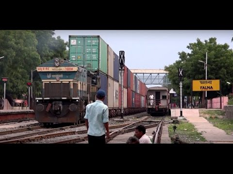 Tallest Train Of Indian Railways Displaying One Hell Of An Acceleration (40K Subscribers Special)