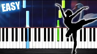 Download Tchaikovsky - Swan Lake Theme - EASY Piano Tutorial by PlutaX Mp3 and Videos