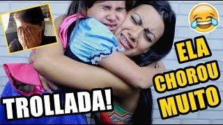 A TROLLAGEM  MAIS TRISTE DO MUNDO! ft Clarinha Salvaya - Pérolas da J@que
